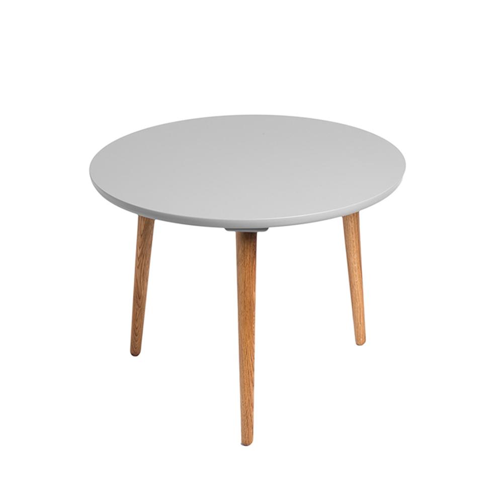 Odkládací stolek Tafel, 45 cm, šedá