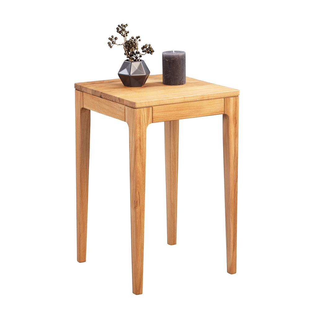 Odkládací stolek Theodor, 38 cm, divoký dub