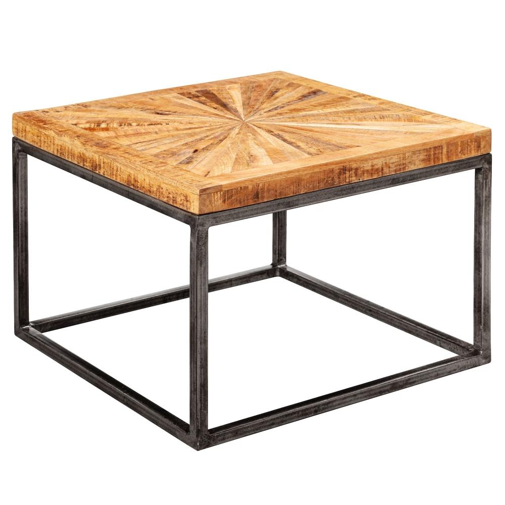 Odkládací stolek Timo, 55 cm, masivní dřevo