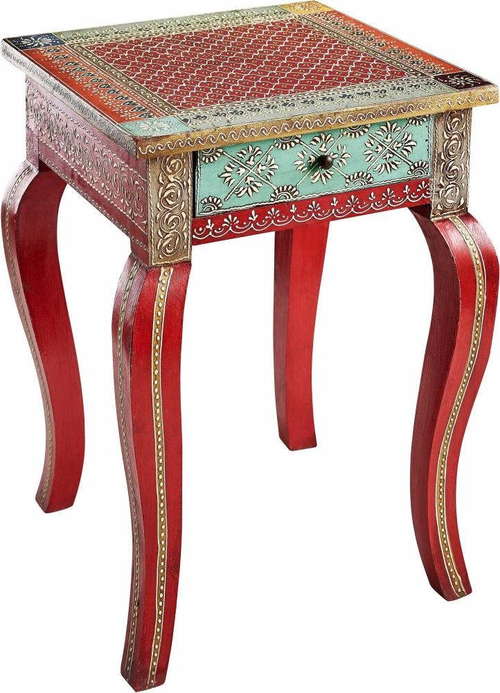 Odkládací stolek Vite, 53 cm, červená