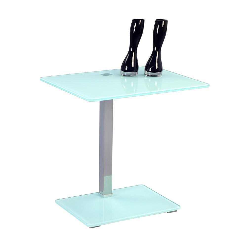 Odkládací stolek Wenke, 50 cm, bílá