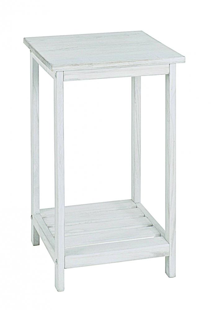 Odkládací stolek Yuri, 59 cm, bílá