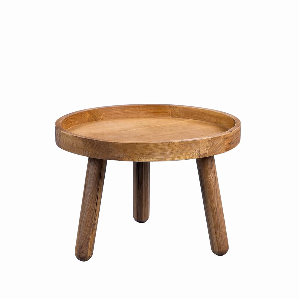 Odkládací stolek z masivu Dani, 49 cm