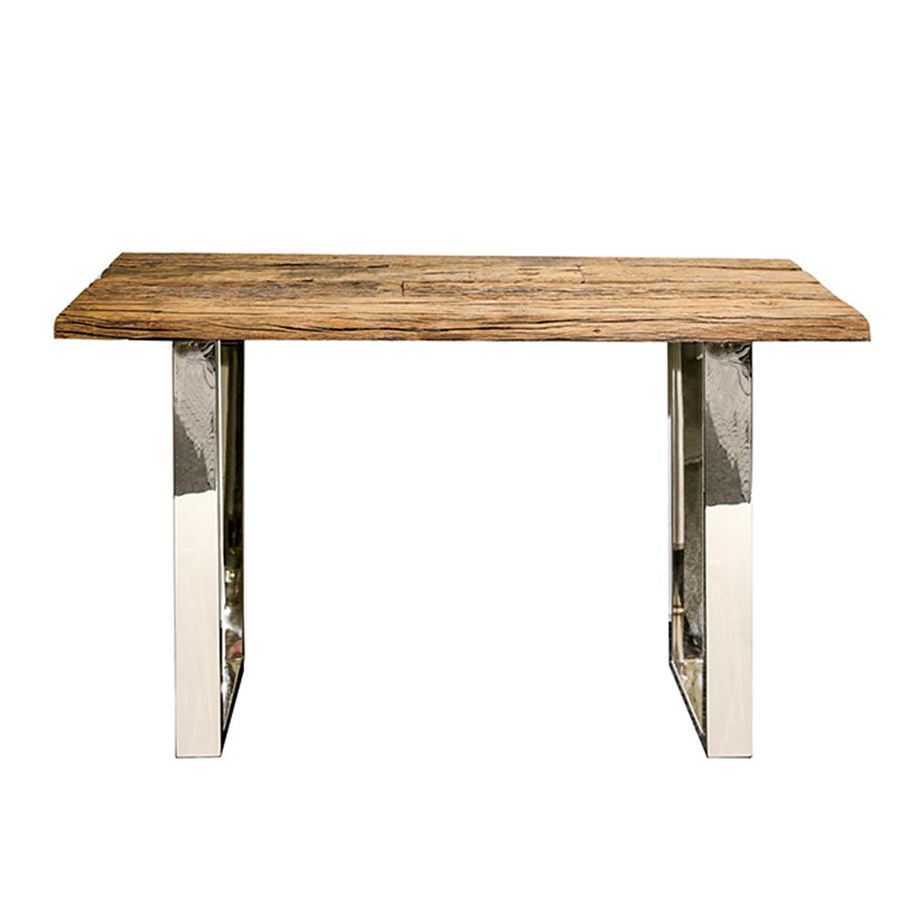 Odkládací stůl z recyklovaného dřeva Woodsen, 130 cm
