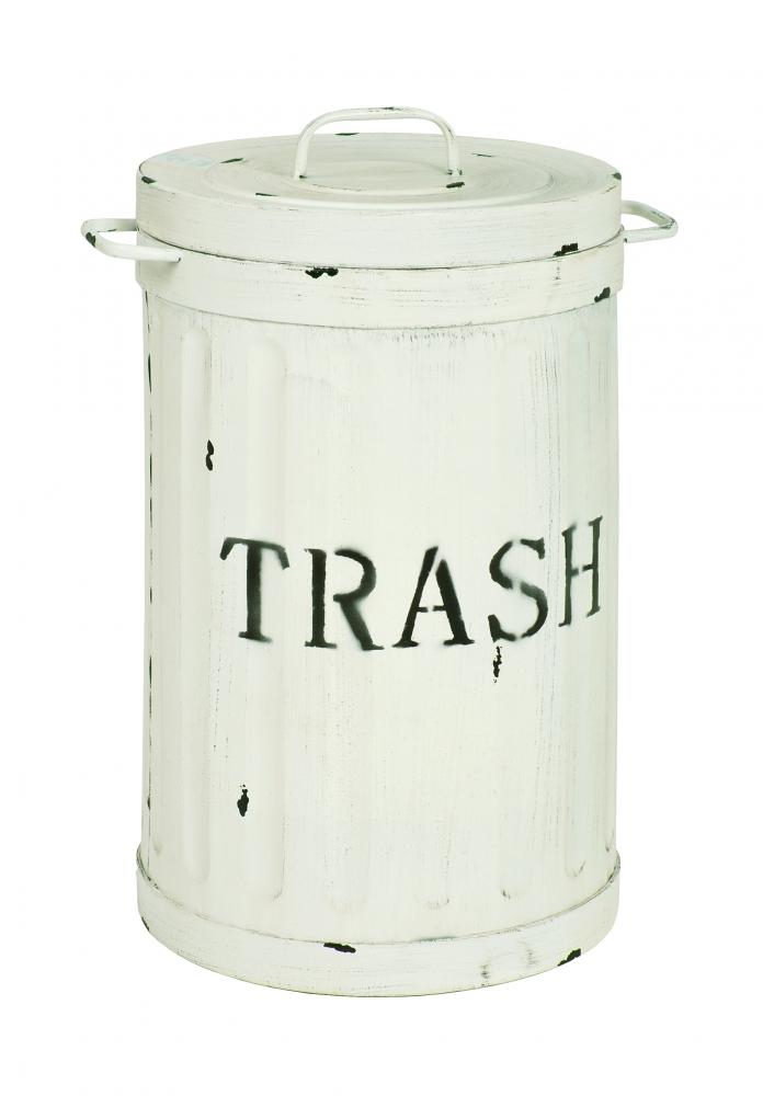 Odpadkový koš Bin, 54 cm, bílá