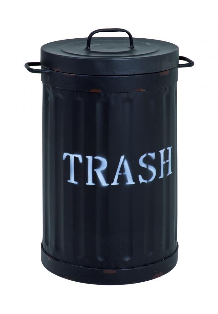 Odpadkový koš Bin, 54 cm, černá
