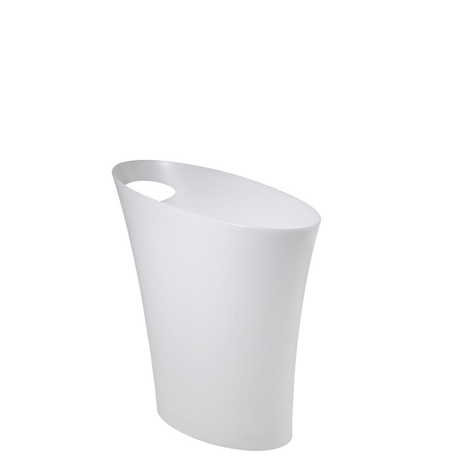 Odpadkový koš Hubert, bílá