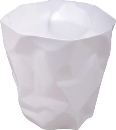 Odpadkový koš Paper, bílá