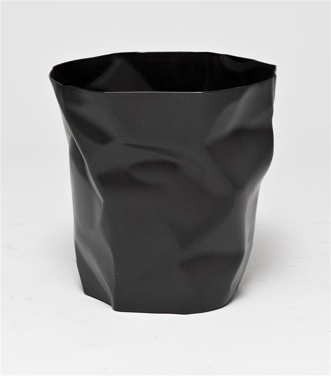 Odpadkový koš Paper, černá