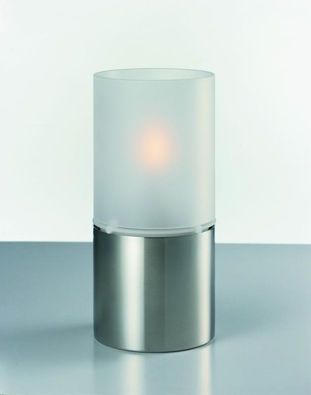 Olejová lampa Classic, mléčné sklo, 18x8,5 cm