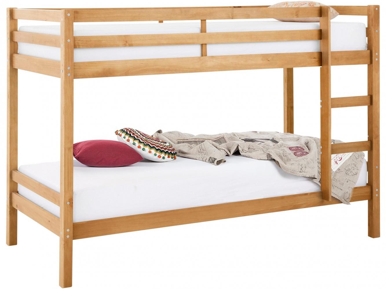 Patrová postel Ali I., 208 cm, borovice