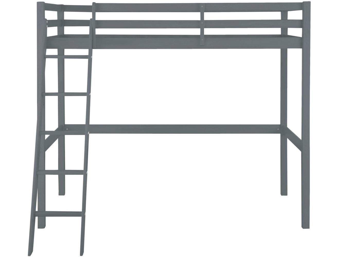 Patrová postel Vicky, 175 cm, šedá