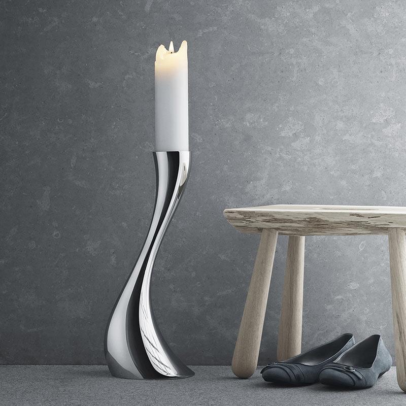 Podlahový svícen Cobra, malý