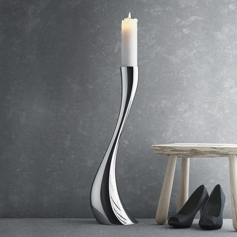 Podlahový svícen Cobra, velký