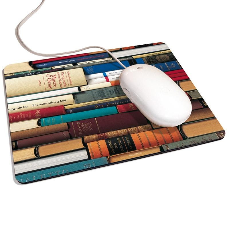 Podložka pod myš Books, 24x19 cm