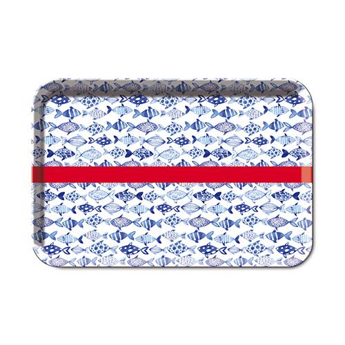 Podnos melaminový Fish, 33x22,5 cm