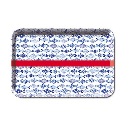 Podnos melaminový Fish, 45x30 cm