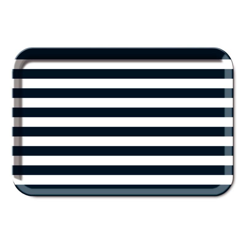 Podnos melaminový Stripes, 44x29 cm