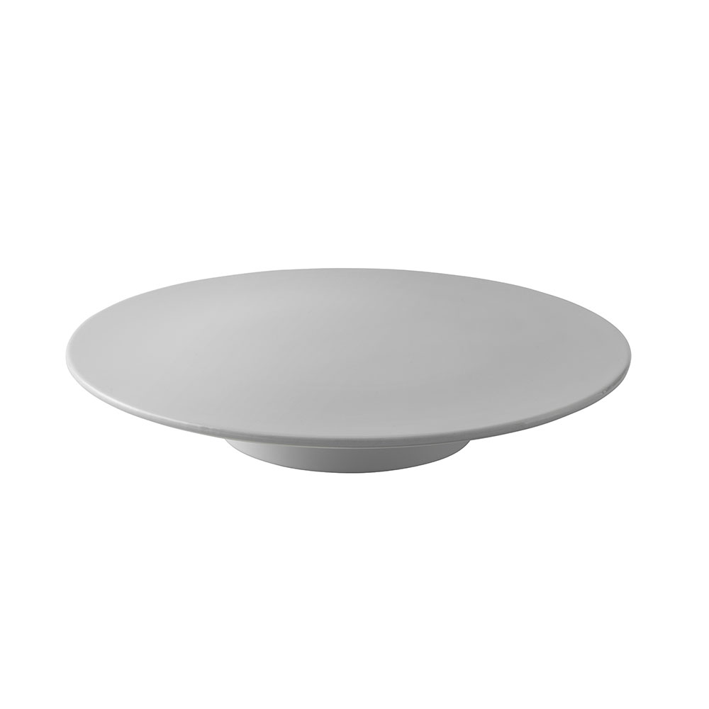 Podnos na dort Emma, 32,5 cm, šedá
