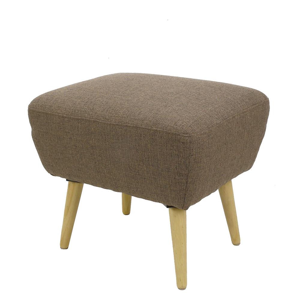 Podnožka ke křeslu / stolička Pinje, béžová