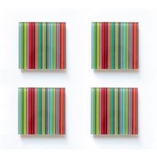 Podtácky Stripes, 10 cm (SET 4 ks) - 1
