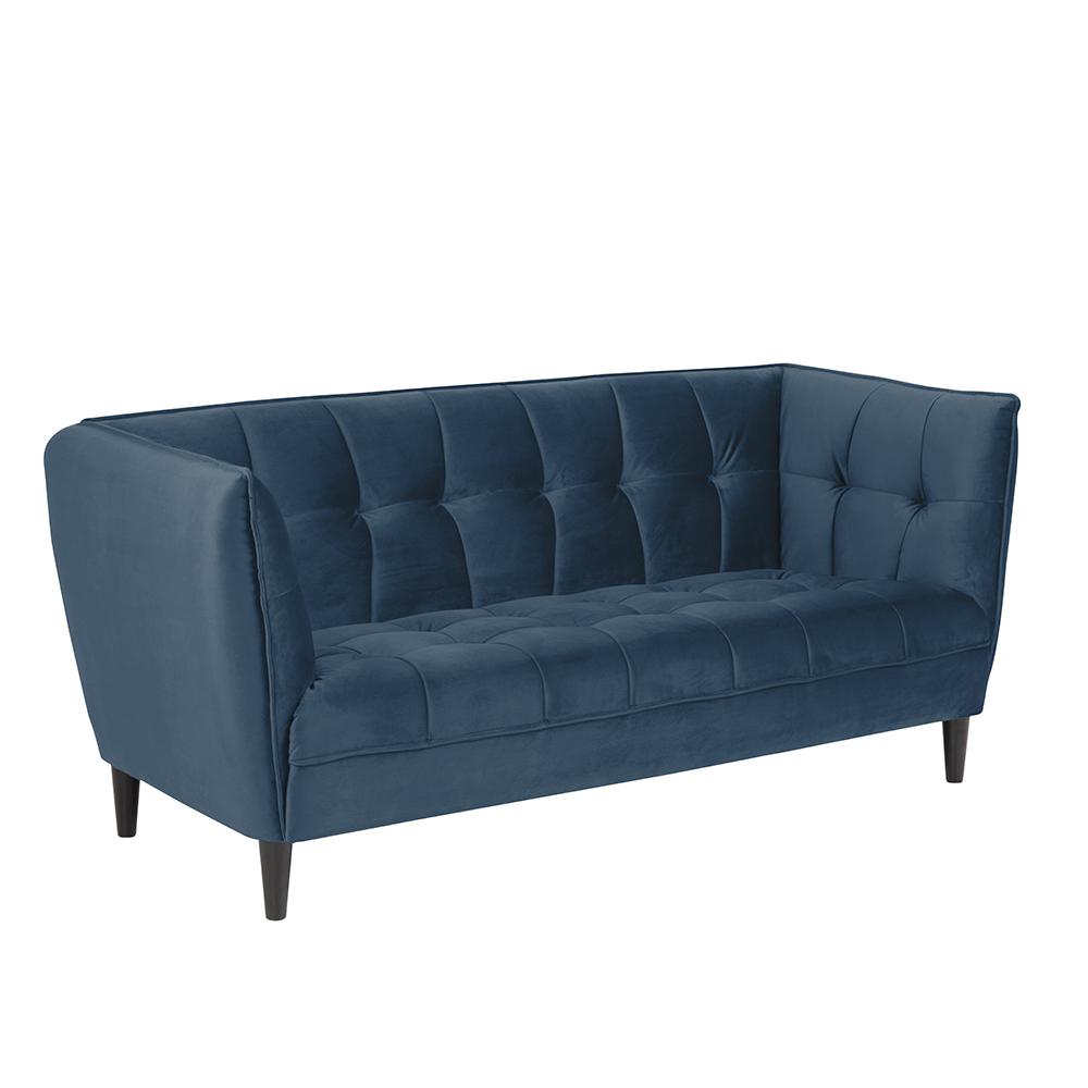 Pohovka 2,5-sedák Joana, 182 cm, modrá