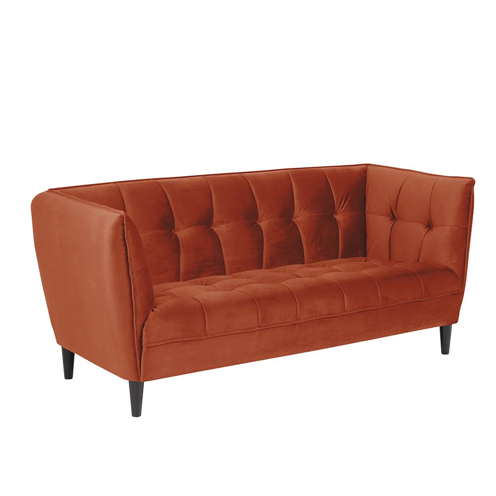 Pohovka 2, 5-sedák Joana, 182 cm, oranžová