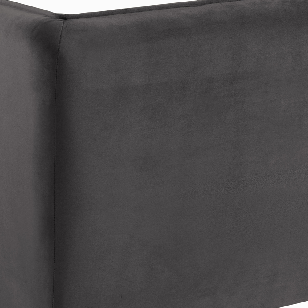 Pohovka 2,5-sedák Joana, 182 cm, šedá