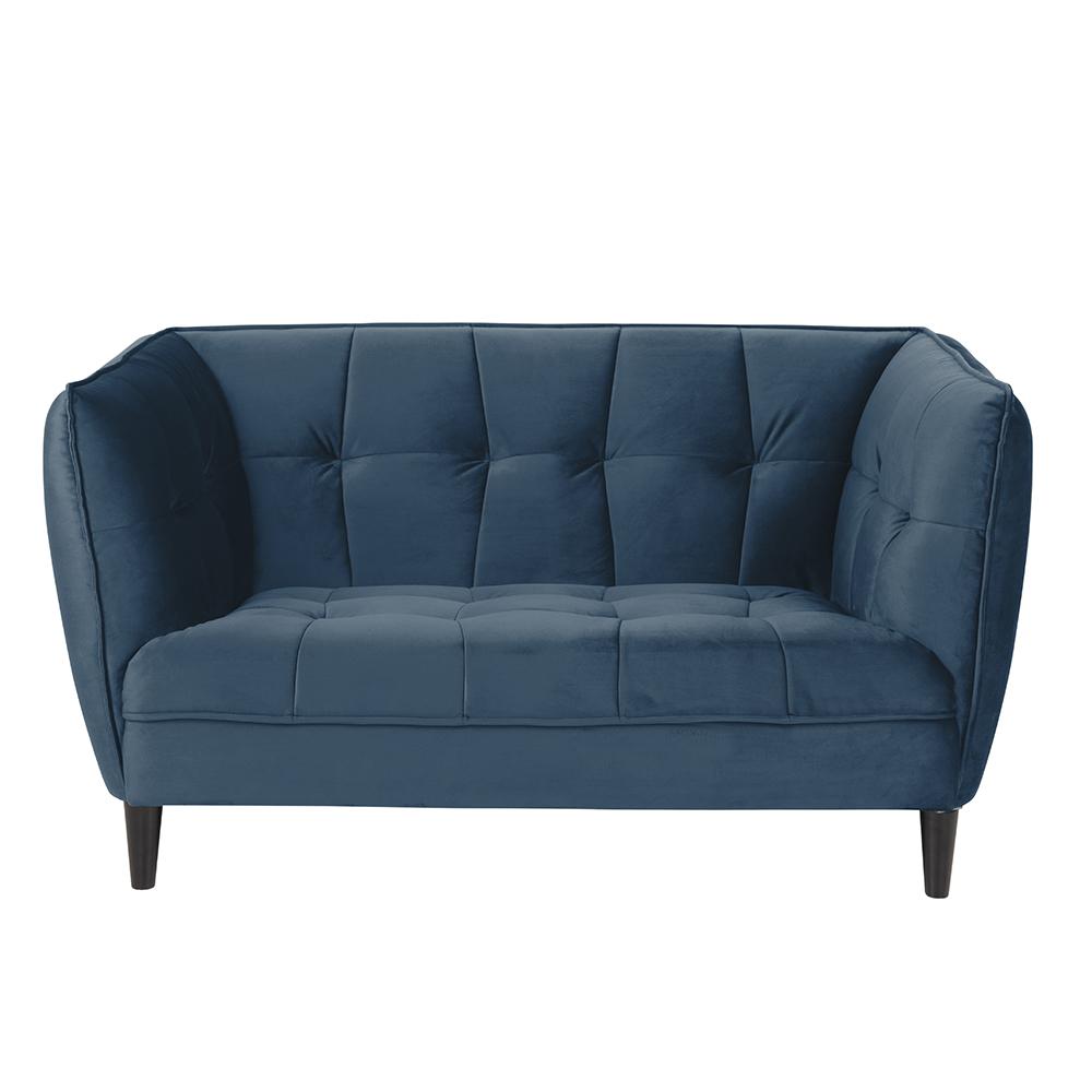 Pohovka 2-sedák Joana, 146 cm, modrá