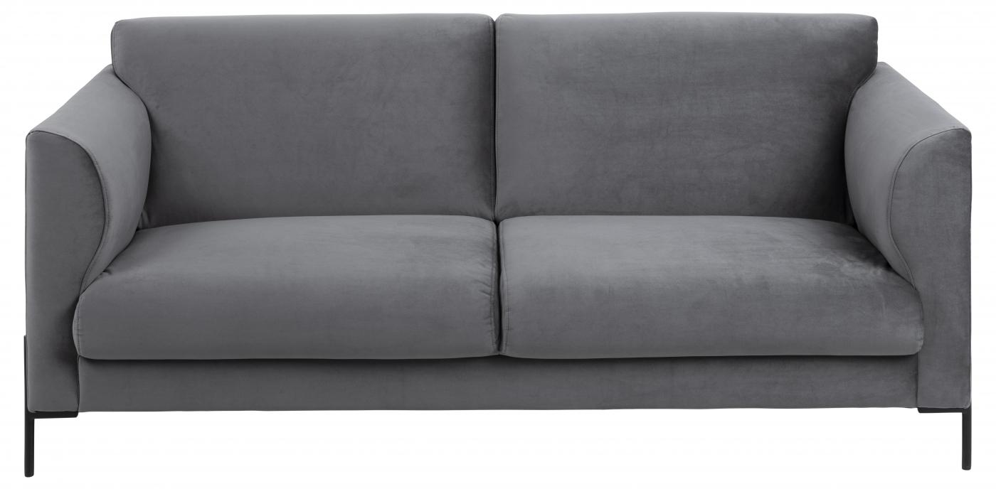 Pohovka Conley, 180 cm, tmavě šedá