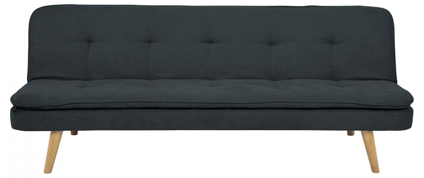 Pohovka Orvieto, 195 cm, tmavě šedá
