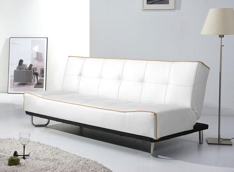 pohovka rozkladacia so sklopn m operadlom merry design outlet. Black Bedroom Furniture Sets. Home Design Ideas