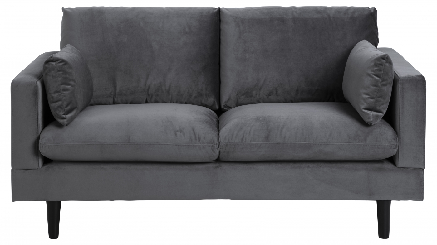 Pohovka Sunderland, 161 cm, tmavě šedá