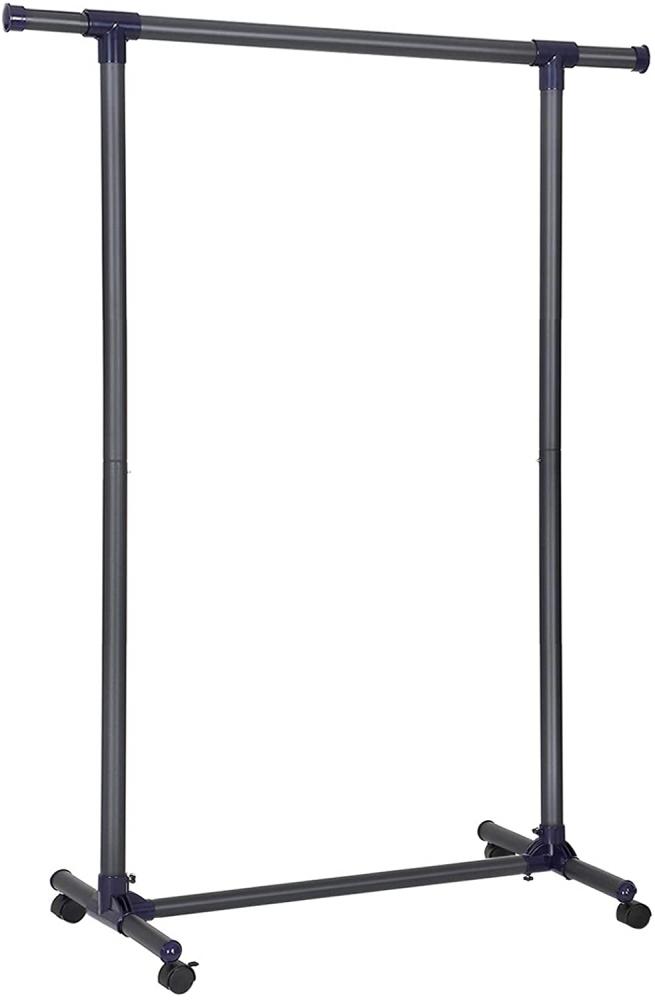 Pojízdný stojan Filis, 165 cm, černá