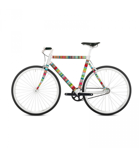 Polep na bicykel Micro-Stripes