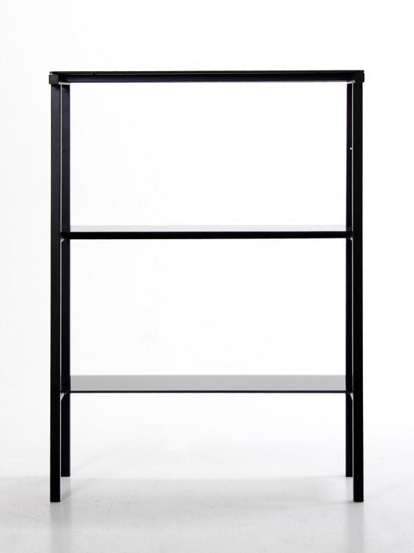 ierny reg l policov reg l gale 110 cm ierne sklo. Black Bedroom Furniture Sets. Home Design Ideas