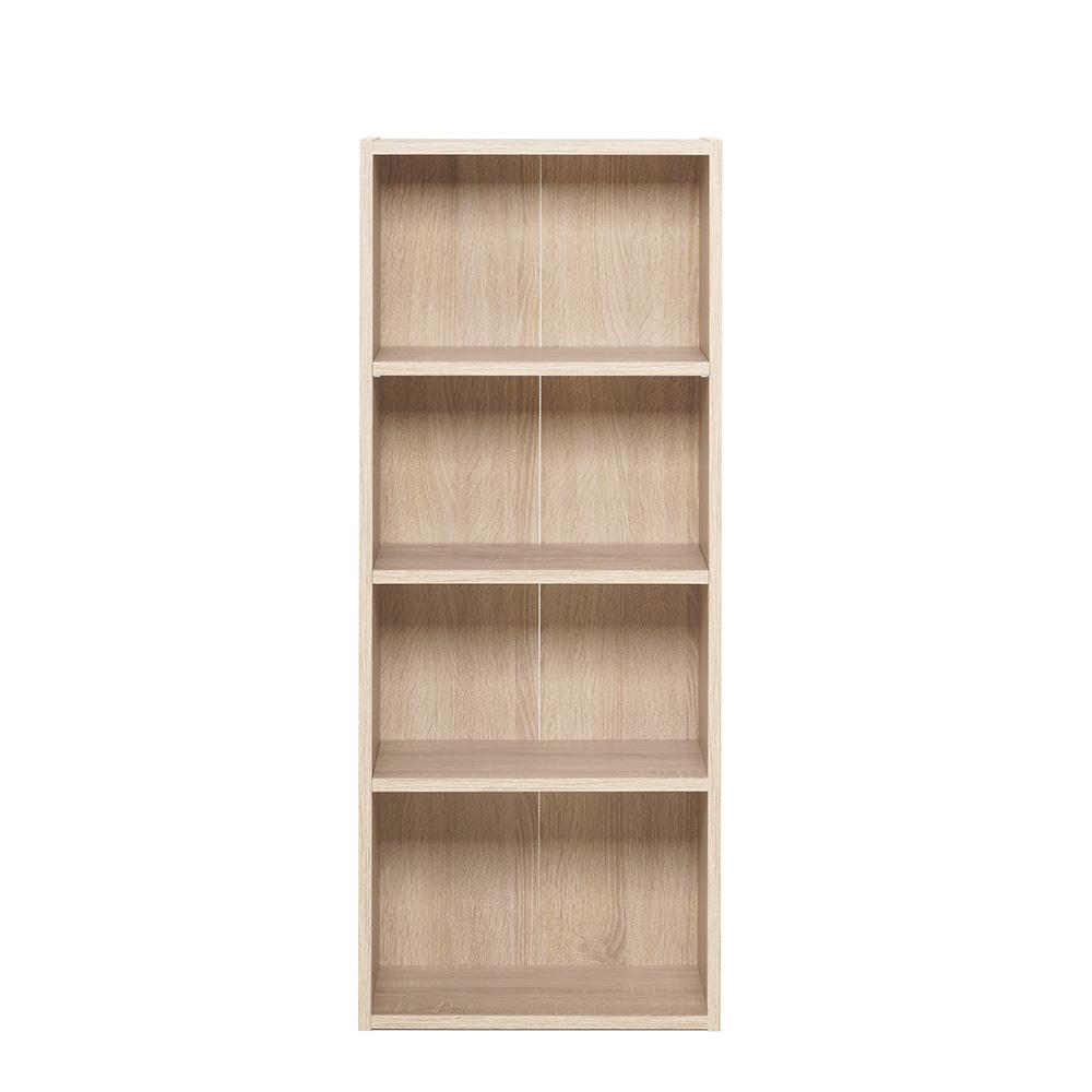 policov reg l knihovna dakota 106 cm dub design outlet. Black Bedroom Furniture Sets. Home Design Ideas