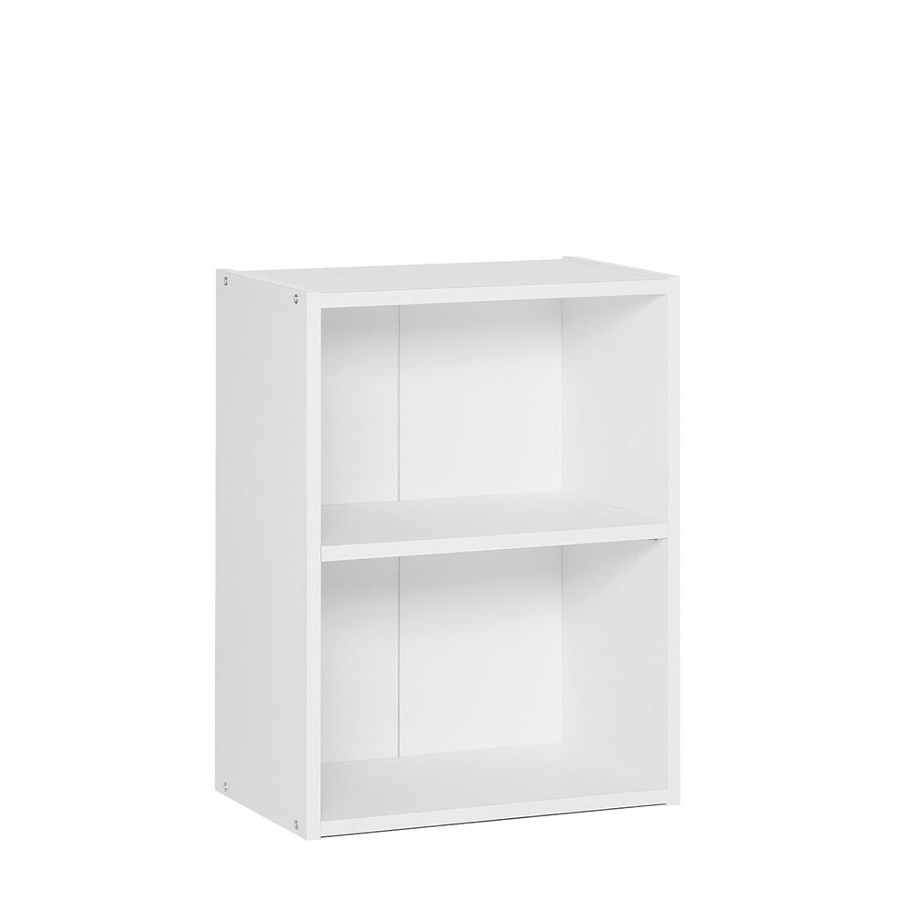 Policový regál / knihovna Dakota, 54,5 cm, bílá