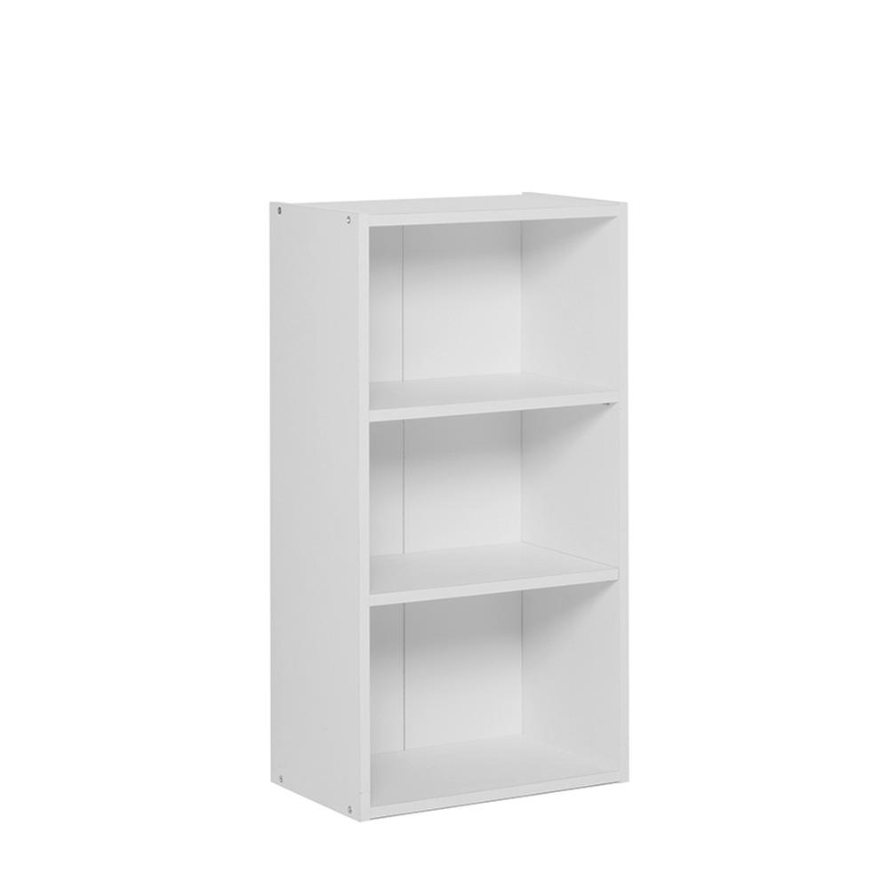 Policový regál / knihovna Dakota, 78,5 cm, bílá