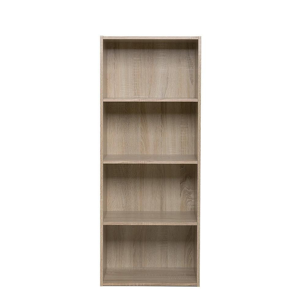Policový regál / knihovna Rubin, 106,4 cm