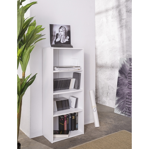 policov reg l kni nica dakota 106 cm biela policov reg ly. Black Bedroom Furniture Sets. Home Design Ideas
