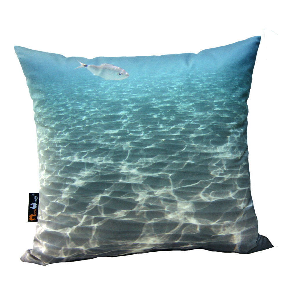 Polštář s potiskem Ocean, 45 cm