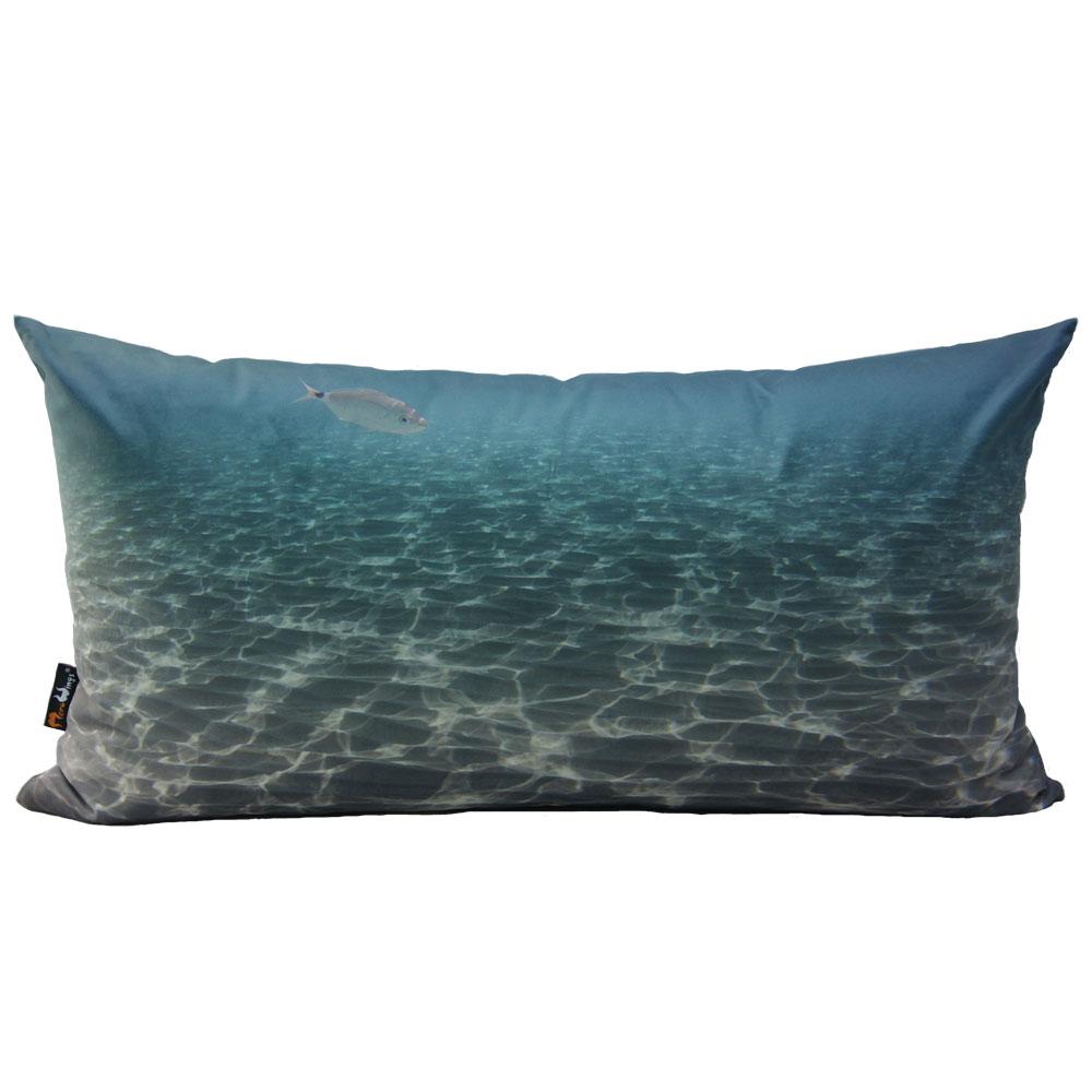Polštář s potiskem Ocean, 74 cm