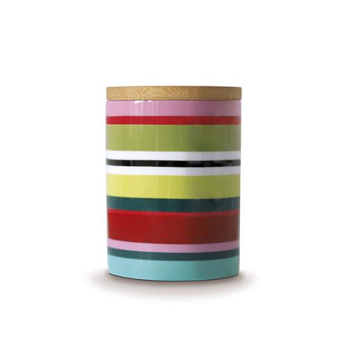 Porcelánová dóza s bambusovým víkem Verano, 0,275 l