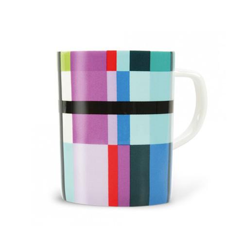 Porcelánový hrnek Zigzag, 0,33 l