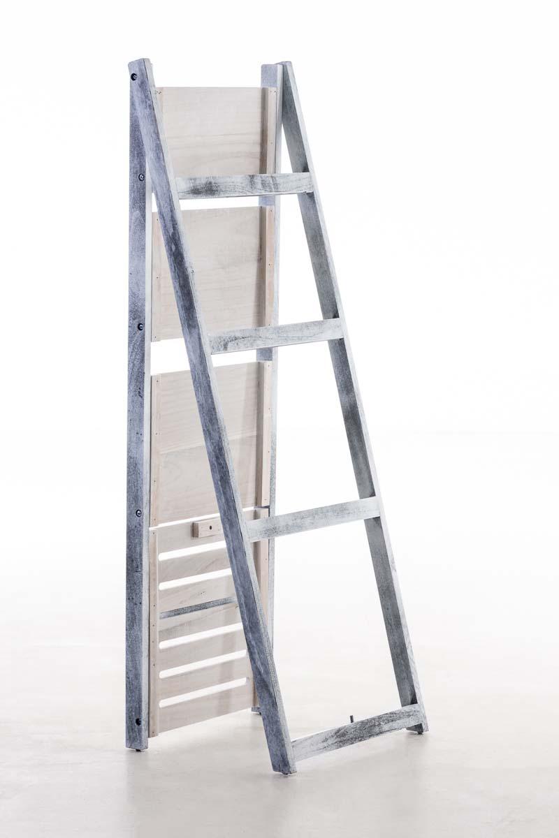 Poschoďový regál Fredrik, 113 cm, antik šedá