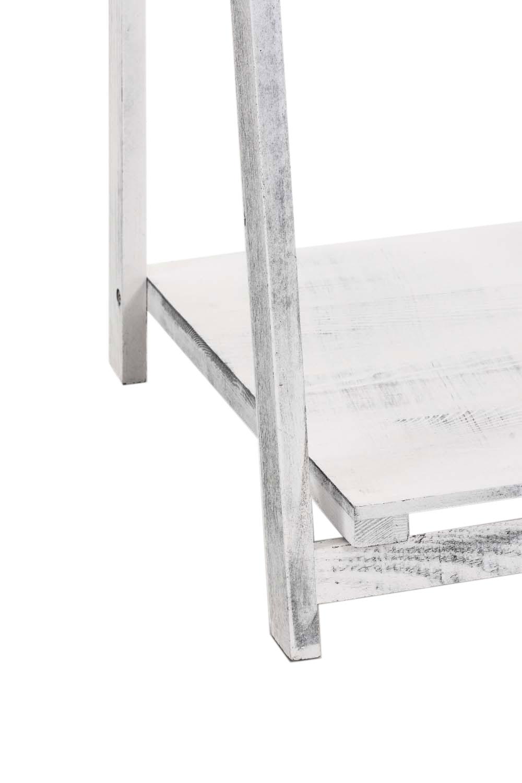 Poschoďový regál Lilla, 151 cm, antik bílá