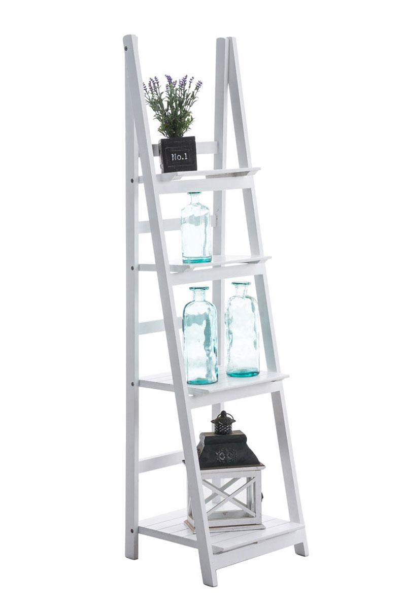 Poschoďový regál Talma, 153 cm, bílá