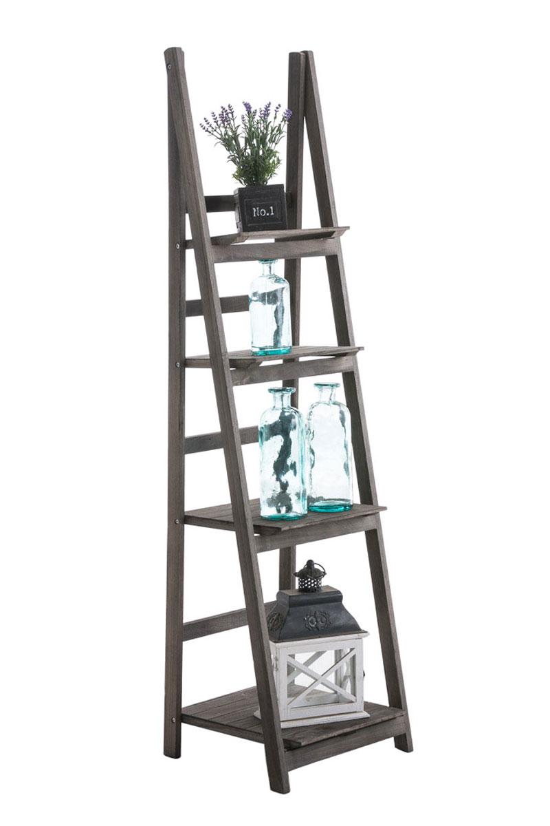 Poschoďový regál Talma, 153 cm, světle hnědá