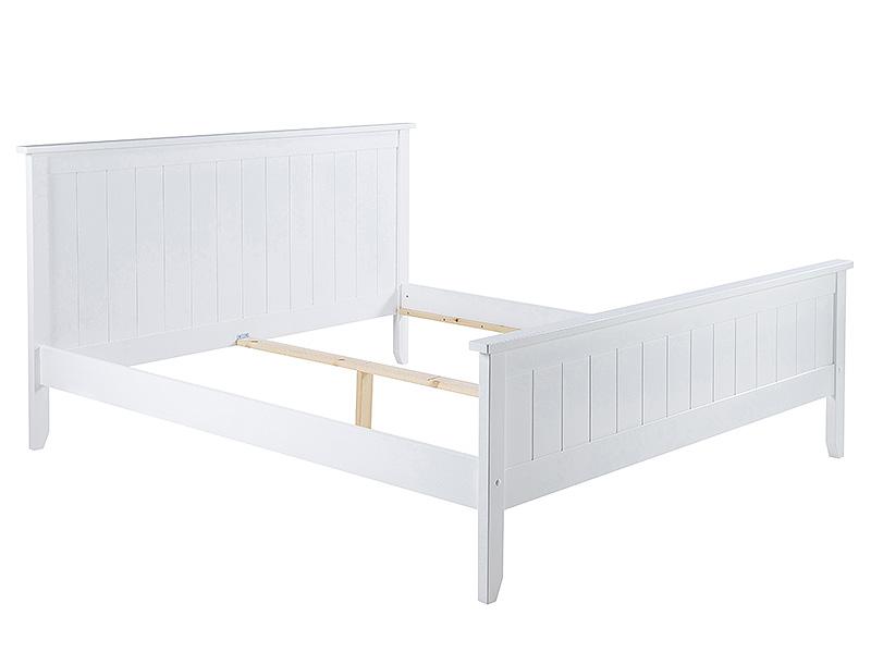 Posteľ drevená Piana, 180x200 cm, biela
